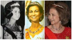 Niarchos RubiesToday's tiara is not really a tiara, strictly speaking, but rather a fantastically flexible set of rubies and diamonds that can be worn in many different ways, including as a bandeau-style tiara of multiple configurations. The set was a gift from billionaire Greek shipping tycoon Stavros Niarchos to Princess Sophia of Greece and Denmark for her wedding to Juan Carlos of Spain in 1962. Of course, Juan Carlos later became King of Spain, and the rubies came to Spain with Queen…