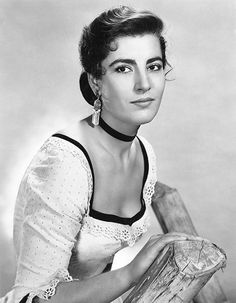 Greek actress Irene Papas as Jocasta Constantine in the 1956 western film Tribute to a Bad Man. Western Film, Western Movies, British Actresses, Actors & Actresses, Irene Papas, Alan Bates, Zorba The Greek, Anthony Quinn, Turner Classic Movies