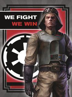 Star Wars Imperial Propaganda Posters | Sci-Fi Design
