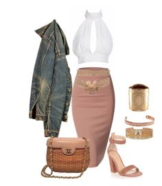 """""""Ready"""" by sheekshat on Polyvore featuring Gianvito Rossi, Chanel and Hermès"""