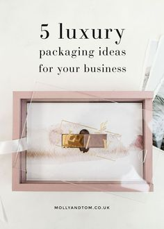 Beautiful packaging ideas for your business Packaging Solutions, Packaging Ideas, Packaging Design, Branding Design, Creative Studio, Creative Business, Business Ideas, Photographer Packaging, Luxury Packaging