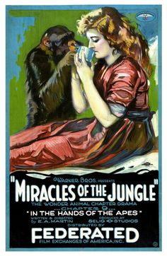 Miracles of the jungle, 1921