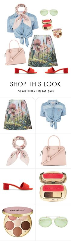 """""""Untitled #1110"""" by boutiquebrowser on Polyvore featuring ADAM, GUESS, Manipuri, Kate Spade, Mansur Gavriel, Dolce&Gabbana, tarte and 3.1 Phillip Lim"""
