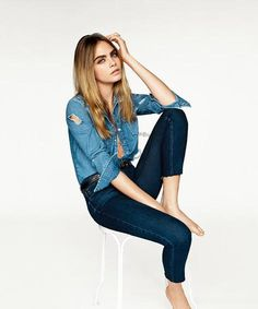 Spring's Best Fashion Campaigns | Topshop, Starring: Cara Delevingne Photographer: Aladair McLellan