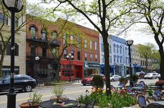 Downtown Ann Arbor's South Main Street was named one of the best Main Streets in America by Fodor's Travel.