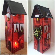 Red/orange house