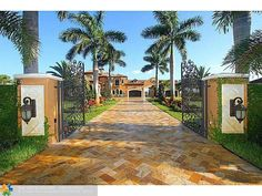 Exterior of luxury home in Southwest Ranches, Florida