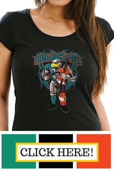 df2d5bf9 Philadelphia Eagles/ Flyers t-shirt. Half and Half design made just for you