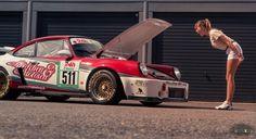 Inge, der Mädchen & Motoren Porsche 911 RSR - Aus den Staaten auf den Ring