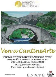 Cartel Expocición de Pilar Gea