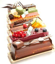 Creative Yummy Chocolaty Cakes. Hmm hmm, Tasty & Delicious. ❤