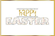 Happy Easter - Freebie In The Pocket Design