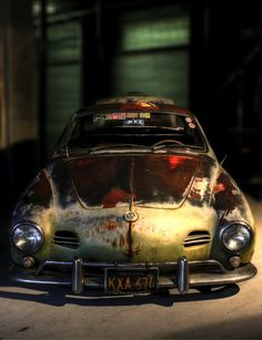 Patina'd car aged to perfection