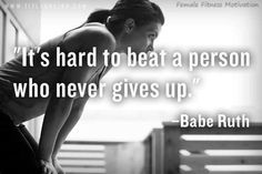 Its hard to beat a person who never gives up quotes quote fitness workout motivation never give up exercise motivate fitness quote fitness quotes workout quote workout quotes exercise quotes Never Give Up Quotes, Giving Up Quotes, Quotes To Live By, Life Quotes, Work Quotes, Wisdom Quotes, Success Quotes, Relationship Quotes, Relationships