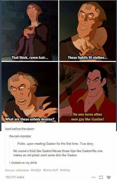 That moment when you cross Disney movies.