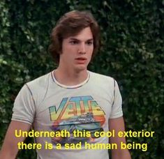 quotes i LOVE That show i almost cried at the last episode That 70s Show Quotes, Tv Show Quotes, Film Quotes, Playlists, Michael Kelso, Thats 70 Show, Brooklyn 9 9, Mood Pics, Reaction Pictures