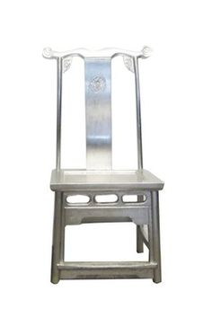 Love the cool industrial yet classic feel this chair has... would love it for my dining room :)