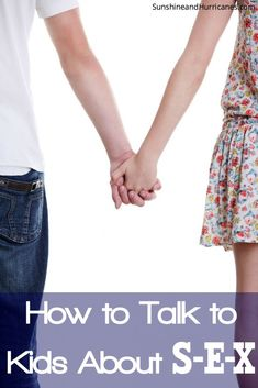 Wondering what is the right age to start discussing sex with your kids? Are you unsure about how to tackle the subject? Did you know there is even a good PLACE to talk with kids to make it easier for both of you? We've got all the information you need for handling this very important part of parenting in this post - personal stories, online resources, books. You're one stop shop for how to talk to tweens and teens about sex. SunshineandHurricanes.com