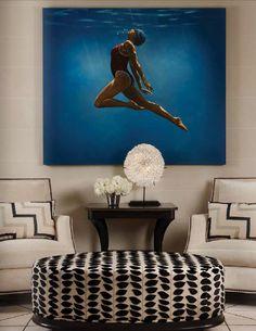 Allison Paladino Interior Design   Florida   via Design Trends magazine