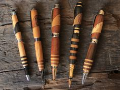 Handcrafted Reclaimed Wood Pens by Chad Schumacher — Kickstarter.com until 6/4/2012, allegory.com