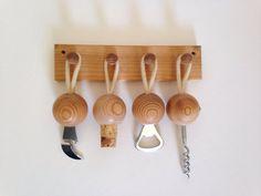Vintage Aarikka Finland Kitchen Tools Set by HudsonRiverHeart