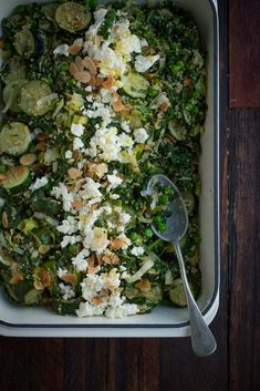 QUINOA WITH ROASTED ZUCCHINI, KALE AND PEAS - The Healthy Chef - Teresa Cutter