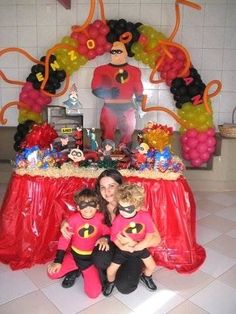 The incredibles birthday party supplies , costumes , cakes & party games , birthday invitations