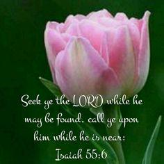 Isaiah 55:6 KJV