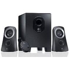 Logitech 980-000382 Z-313 Speaker System - PC Multimedia - 2.1-Channel - Wired - Black