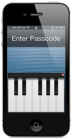 PLAY PIANO ON IPHONE LOCK SCREEN TO UNLOCK THE DEVICE [VIDEO] Posted on May 3, 2013 The jailbreak community has never failed to amaze us with the innovative and inventive tweaks that they manage to conjure up in their minds. Refreshing and filtering through Cydia inevitably brings up a wide variety of different types of packages and enhancements for jailbroken iOS devices, with some of the more popular tweaks proving to be those simple implementations that live directly on the ...