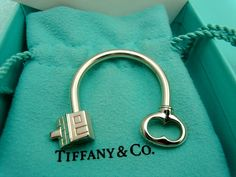 Tiffany Co House Key Chain Sterling Silver - The Perfect Closing gift that we give to our clients when they move into their house