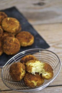 Polpette di patate e ricotta al forno