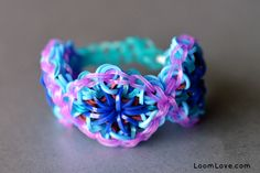 Ready for the next level of Rainbow Loom? Learn how to make advanced Rainbow Loom patterns with these DIY tutorials, or buy the designs ready-made. Rainbow Loom Tutorials, Rainbow Loom Patterns, Rainbow Loom Bands, Rainbow Loom Bracelets, Loom Bands Designs, Crazy Loom, Loom Love, Rainbow Project, Loom Bracelet Patterns
