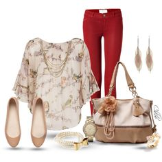 maroon pants would be great if they weren't so dang tight! Red Pants Outfit, Maroon Outfit, Maroon Pants, Red Jeans, Loose Fitting Tops, Classy Women, Fashion Outfits, Womens Fashion, Girl Power