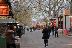 Bilder vom Winter Wonderland im Hyde Park in London