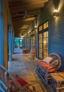 i have victorian windows and door want to use in flat roof corrugated iron house - Google Search