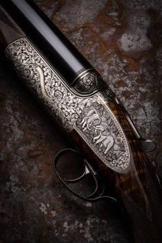 Westley Richards 700/577 Droplock Double Rifle.