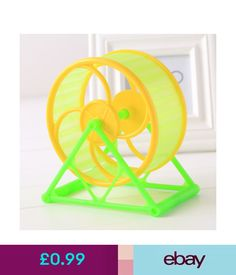 Exercise & Toys Wheel Toy Play With Holder Plastic Pet Rodent Hamster Exercise Running Big #ebay #Home & Garden