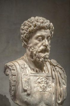 Bust of Marcus Aurelius from the Musée Saint-Raymond. Marcus Aurelius Antoninus Augustus, 26 April 121–17 March 180, was Emperor from 161 to 180. He ruled with Lucius Verus as co-emperor from 161 until Verus' death in 169. He was the last of the Five Good Emperors and is also considered one of the most important Stoic philosophers.