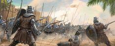 Unsullied Phalanx by Lincoln Renall   2D   CGSociety