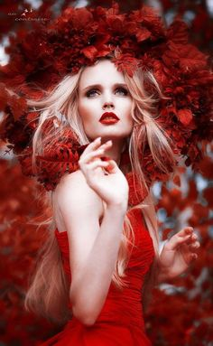#red fashion ~ ღ ~ Skuwandi
