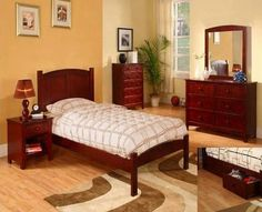 Youth bedroom furniture sets in dallas,fort worth,austin,san antonio and houston. Boys Bedroom Sets, Bedroom Sets For Sale, Discount Bedroom Furniture, Kids Bedroom Furniture, Contemporary Bedroom Sets, Home Furnishings, Full Bed, Youth, Cherry Finish