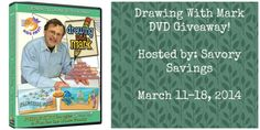 Do you have a houseful of miniature artists (or even just one miniature artist)? If so, check out this #giveaway and enter to #win this fun and educational DVD: Drawing With Mark: Something Fishy! Ends March 19 (12:00am).