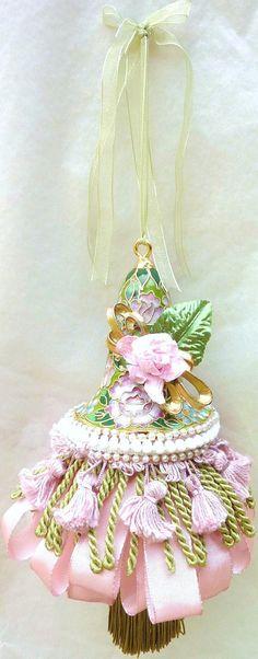 Victorian Decorative Tassel  Shabby Chic Decor  by atopdrawer, $36.00