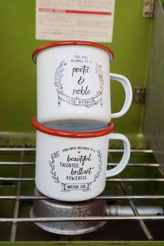 Leslie Knope Compliment Camp Mugs (Set of 2 Best Friend Mugs)