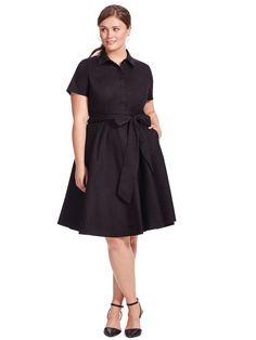 City Chic | Wrap Shirt Dress | Gwynnie Bee