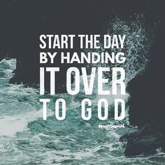 Put your best foot forward today by handing your day over to God and letting him go before you. #projectinspired