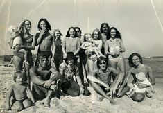 Pink Floyd family and  friends. 1970.