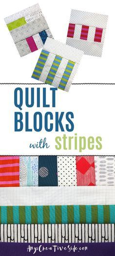 Modern quilt block patterns for you to explore and create with! Every week I add a new block with a video tutorial, to the series and it's free for the week. Start a new sewing project with me!