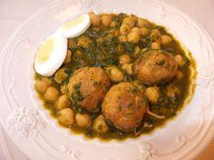 """Potaje de Semana Santa""  -  Easter stew (Spanish chickpea soup)"